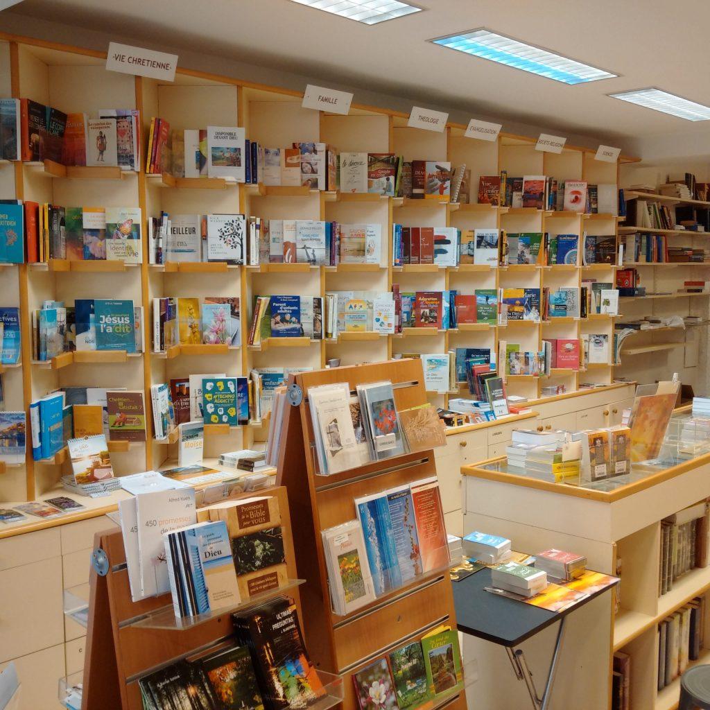 L'accueil de la librairie